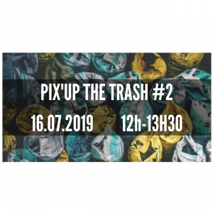 PIX'UP THE TRASH #2 avec Atome Game